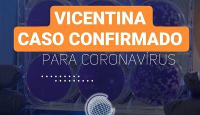 Vicentina confirma caso de Covid-19, também trabalhadora na JBS de Dourados