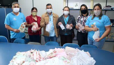 Saúde recebeu mais de 2 mil máscaras para distribuição a população em Jateí