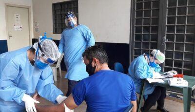 Saúde faz 49 testes rápidos e 16 deram positivos para o Covid-19 em Bonito (MS)