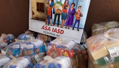 Igreja Adventista do Sétimo Dia de Vicentina distribui 600 kg de Alimentos à Familias carentes