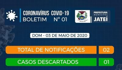 Caso confirmado de Covid-19 contraiu vírus em Barretos e é residente em Jateí