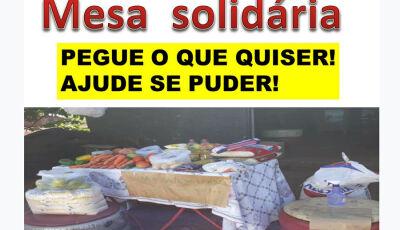 Amigos do Bem lançam Mesa Solidária para ajudar pessoas afetadas pela Covid 19 em Fátima do Sul