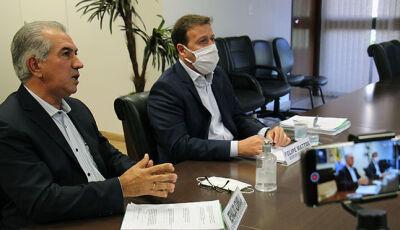 Porta-voz de governadores, Reinaldo tem garantia de Bolsonaro no projeto de socorro aos estados