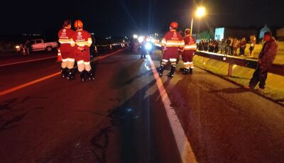 Motociclista morre em acidente na BR-163, em bairro de Campo Grande