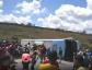 Cinco pessoas morrem após tombamento de ônibus na Bahia