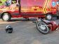 Mulher e criança são vítimas de acidente próximo ao Fórum de Nova Andradina