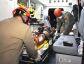 Pneu de moto estoura e casal sofre acidente na entrada de Nova Andradina