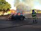Incêndio destrói carro na área urbana