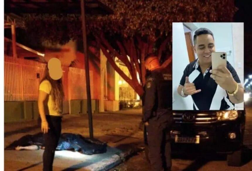 A vítima foi identificada como João Victor Flores de 25 anos, que estava na calçada