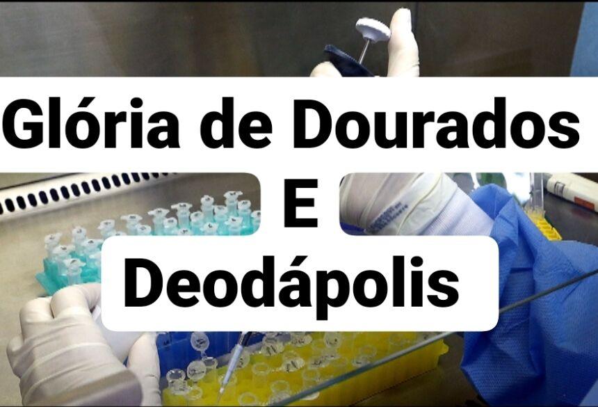 Glória de Dourados tem 21 casos suspeitos e Deodápolis tem 04 casos suspeitos, CONFIRA O BOLETIM