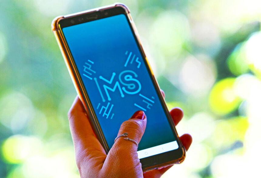 Ao alcance de todo cidadão, serviços rompem a burocracia pelo app MS Digital