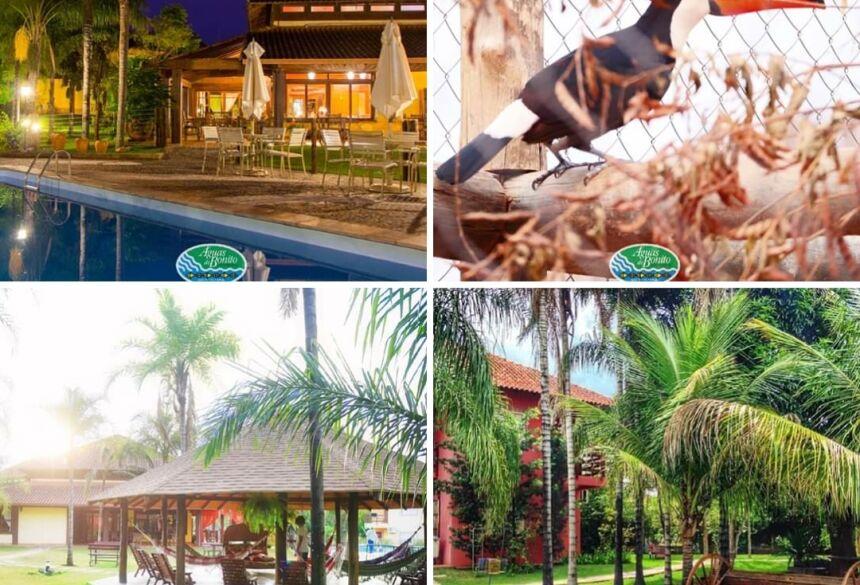 Hotel Águas de Bonito é a integração total com a natureza, reabertura 1º de julho em Bonito (MS)