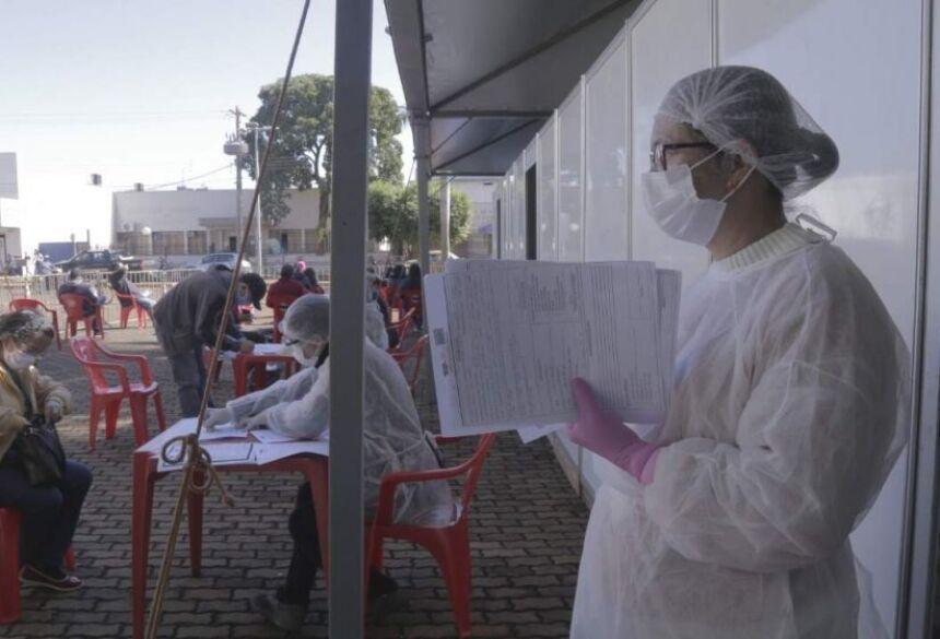 Em Rio Brilhante, testagem em massa de funcionários da JBS