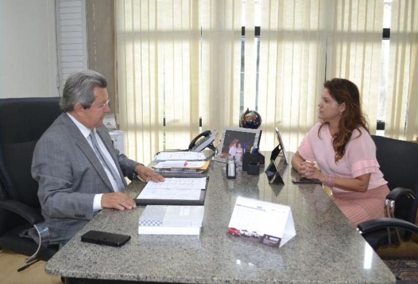 Prefeita Patrícia Margatto solicitou emenda parlamentar a Onevan de Matos