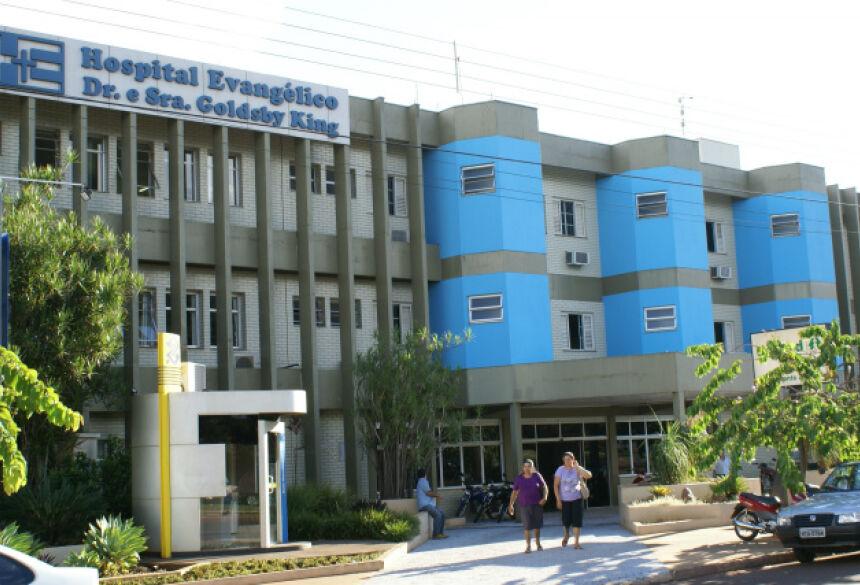 O paciente estava internado na UTI (Unidade de Terapia Intensiva) do Hospital Evangélico