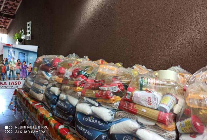 Assistência Social Adventista já distribuiu mais de 2 toneladas de alimentos