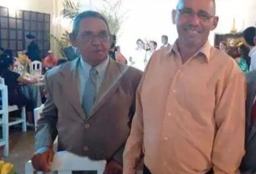 Bento e José Carlos, lado a lado. (Foto: Arquivo da Família) - CREDITO: CAMPO GRANDE NEWS