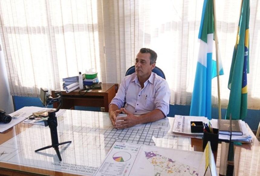 Aristeu Pereira Nantes, prefeito de Glória de Dourados |