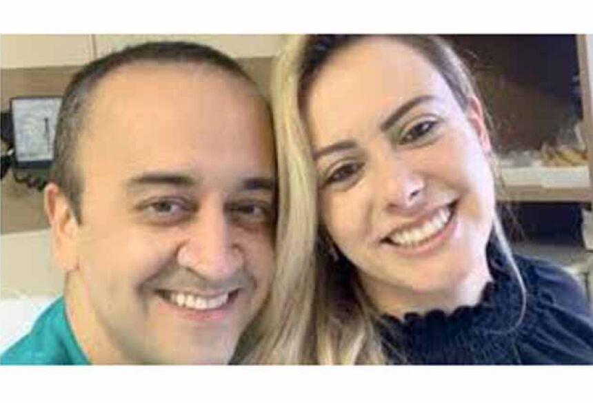 o cirurgião dentista Fabricio David Jorge, de 41 anos, esfaqueou a enfermeira Pollyana Pereira de Moura, 35