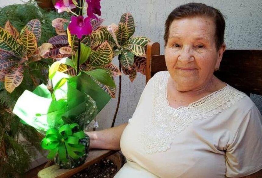 Rosalina de Jesus Dias, de 85 anos