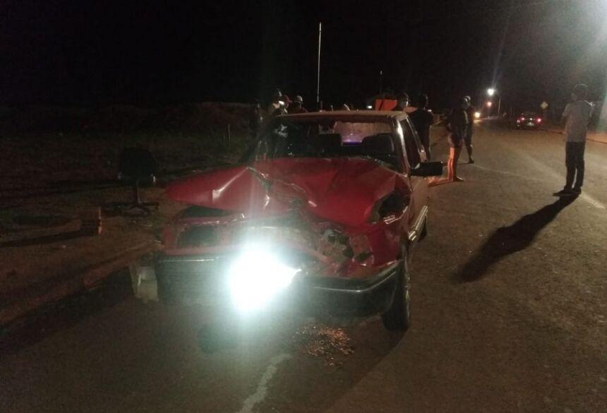 A causa do acidente será investigada.