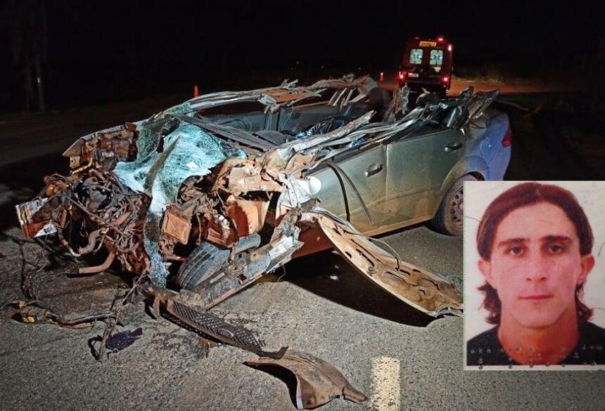 Claudinei Aparecido de Oliveira, tinha 38 anos.