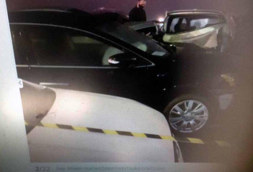 Tragédia na BR-277 envolveu 22 veículos, segundo a Polícia Rodoviária Federa -