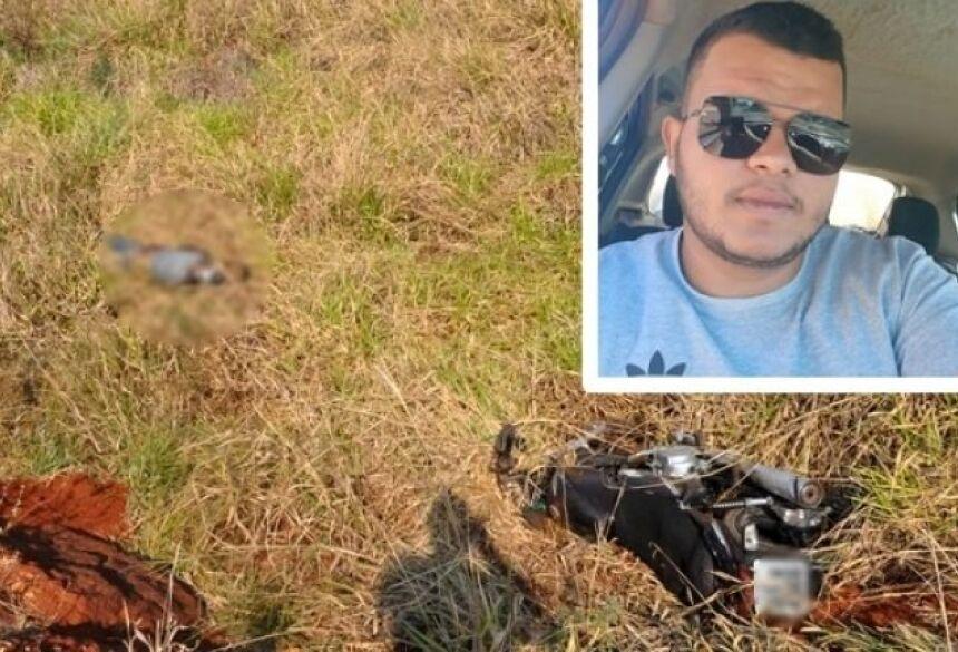 Foi encontrado na manhã desta terça-feira (18), o corpo do motociclista Jeferson Thiago da Paixão Cruz.