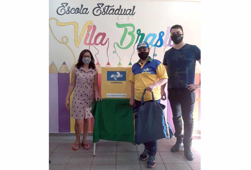 Escola Estadual Vila Brasil desenvolve importante projeto com os Correios de Fátima do Sul