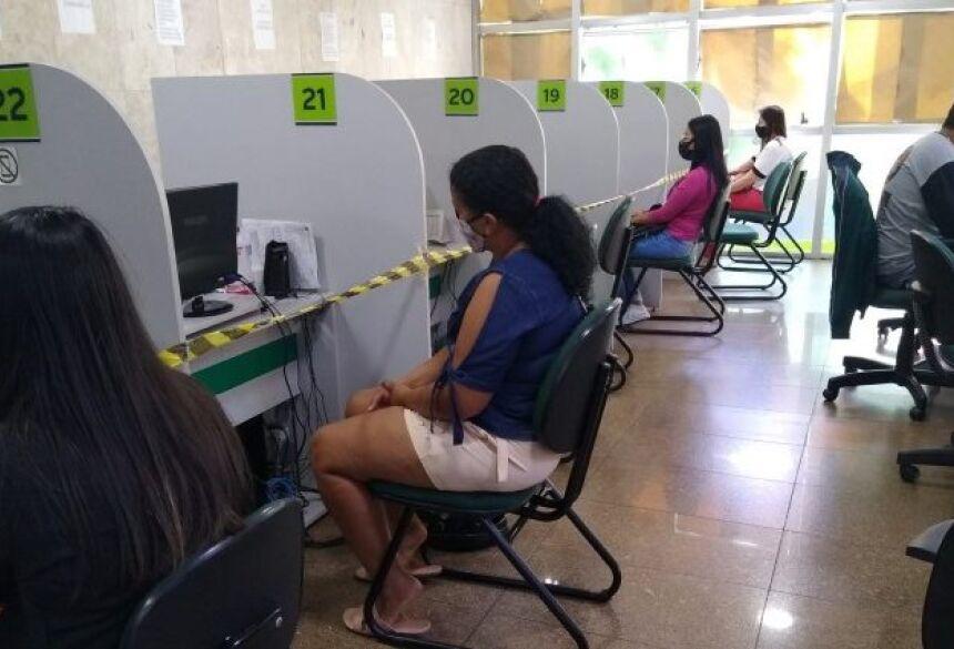 A Funtrab recomenda que os candidatos baixem o aplicativo SINE FÁCIL no aparelho de celular ou computador.