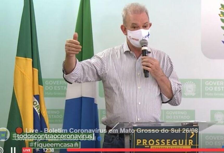 Secretário de Saúde, Geral Resende afirmou que a taxa de letalidade da doença está em 1,7%.