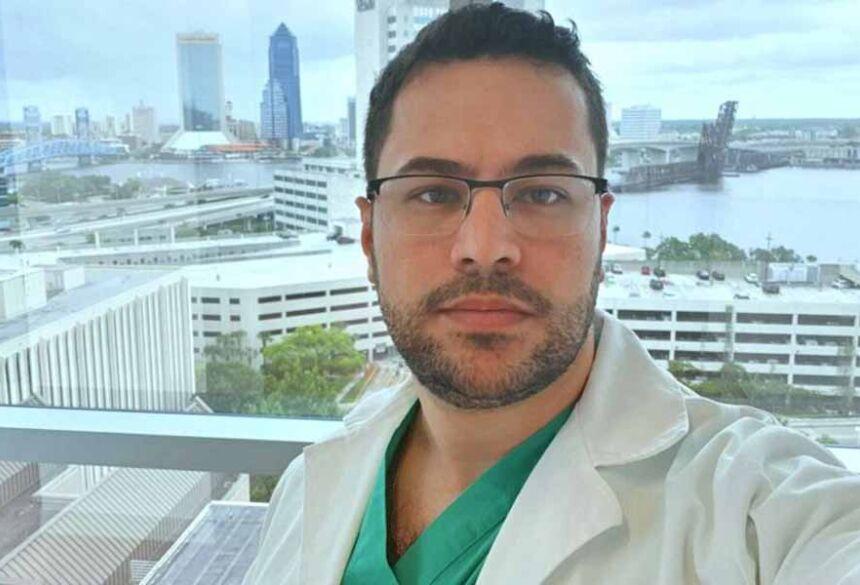 médico Lucas Pires Augusto, de 32 anos, vítima do novo coronavírus.