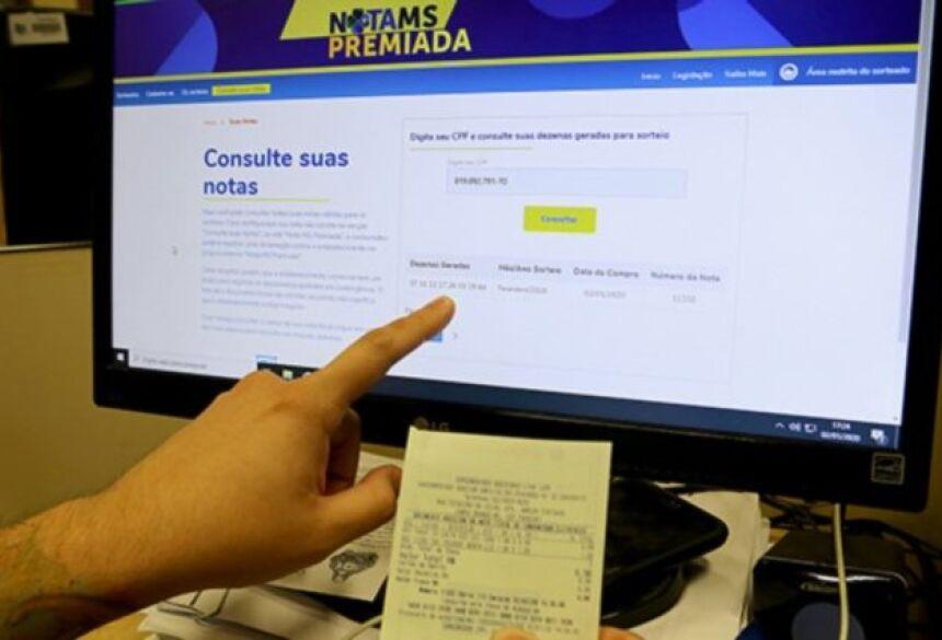 Mais informações acesse o site Nota MS Premiada