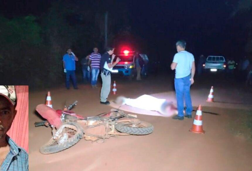 Giba morreu no local do acidente - Foto: Douradosnews/Osvaldinho Duarte