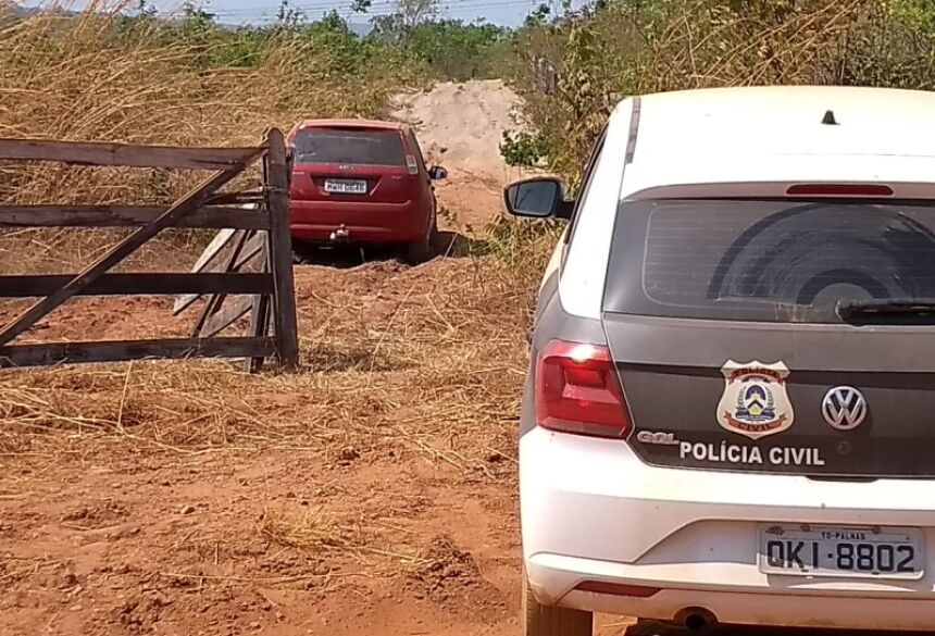 Os policiais foram acionados a deslocar até a propriedade