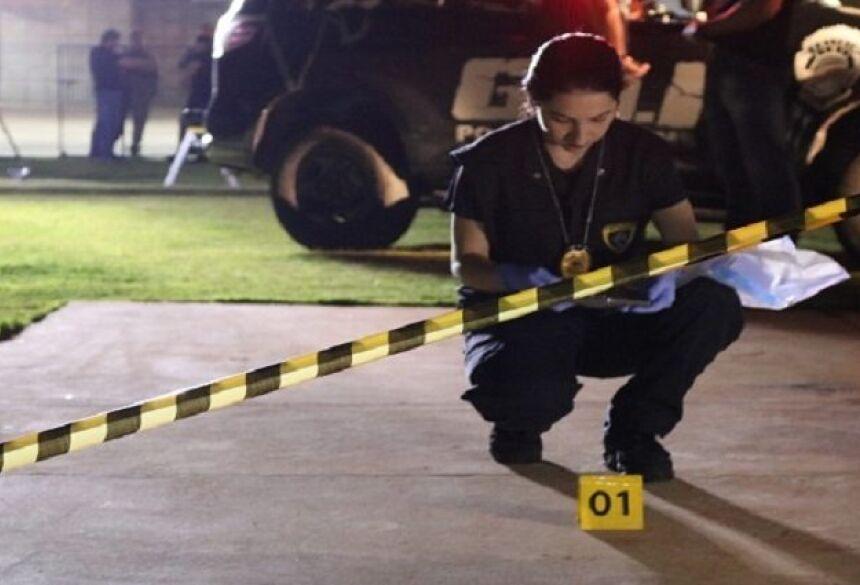 os homicídios caíram 14,3% em Mato Grosso do Sul de 2017 para 2018.
