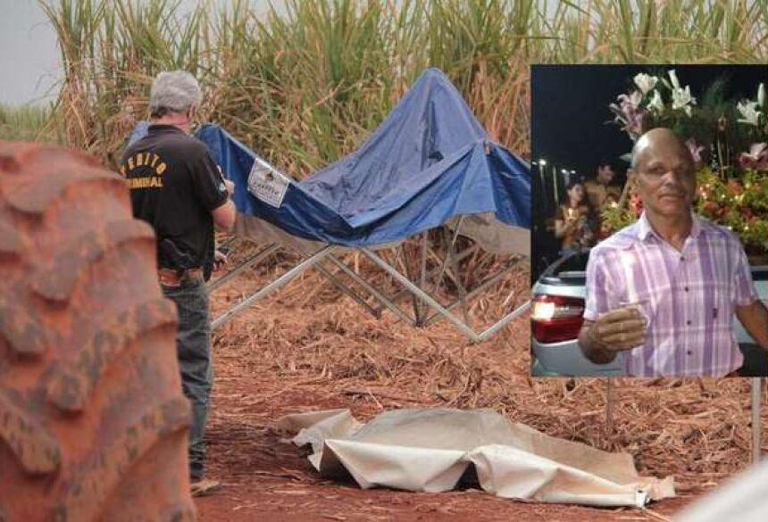 o acidente ocorreu próximo à usina no trecho da estrada que corta a Fazenda Pão de Mel