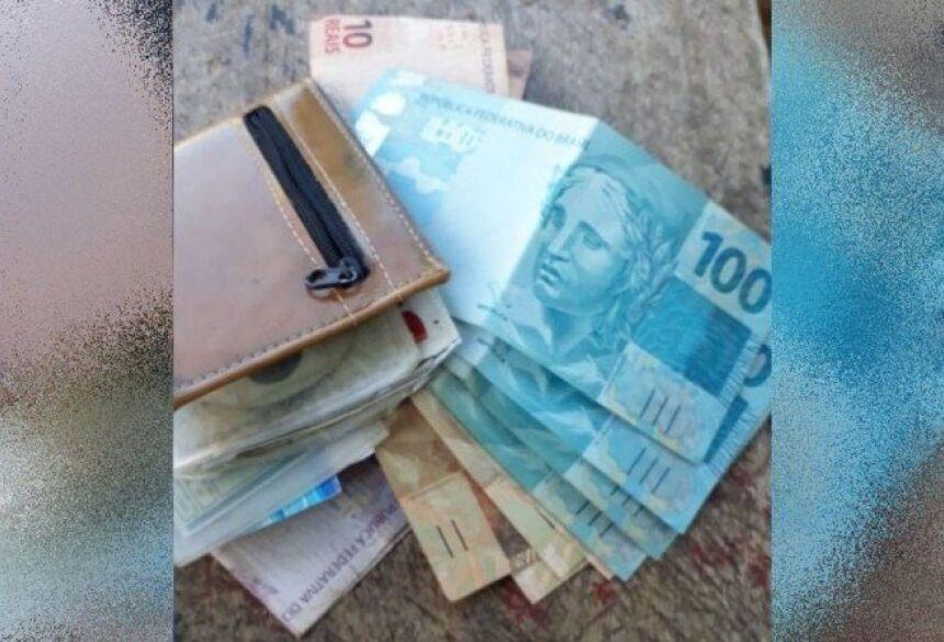Anízio de Faria contou que perdeu a carteira recheada na frente de um mercado