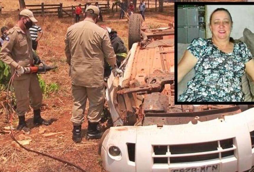 Informações do Corpo de Bombeiros apontam que a mulher perdeu o controle da direção do veículo