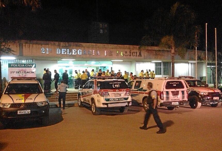 Pastor realizava o culto dominical no momento do assassinato - (crédito: Policia Civil/Divulgação)