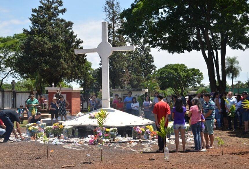 Quem for visitár o cemitério deverá usar máscara