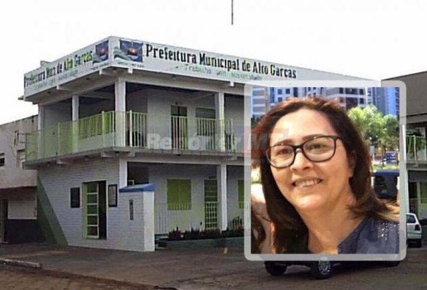 A vice-prefeita de Alto Garças, Adelaide Hermes Ribeiro
