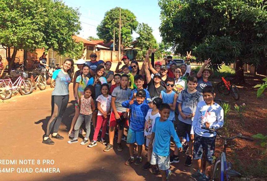 1ª Pedalada Maranata Kids