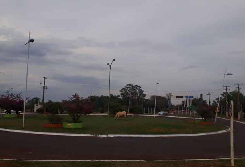 Céu com nuvens em Fátima do Sul