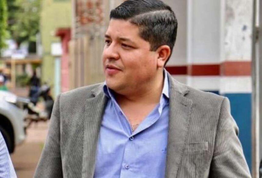 vice-prefeito de Ponta Porã, Caio Augusto (PSD)