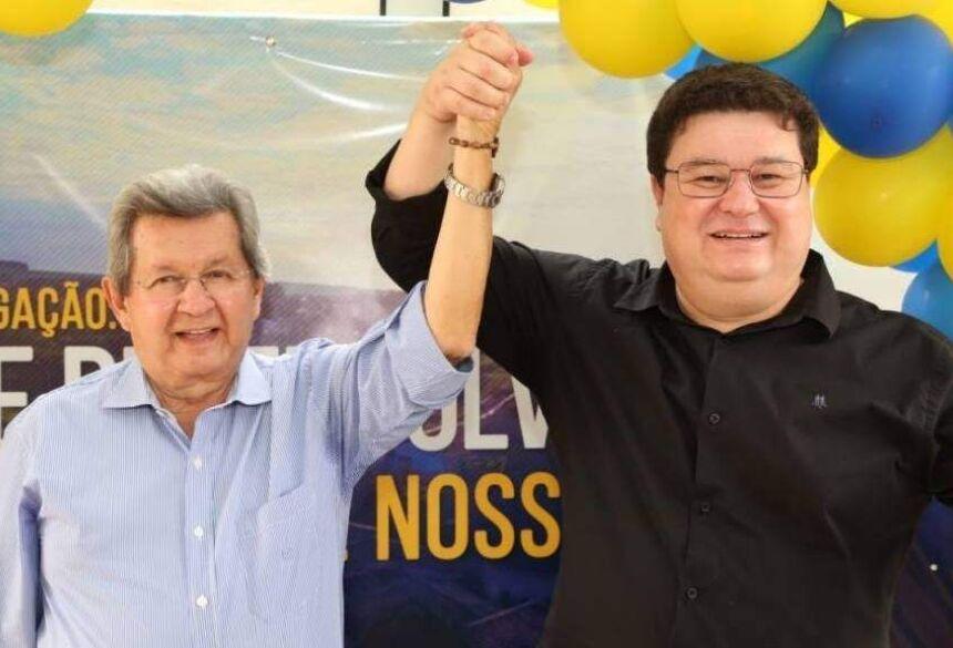 Onevan (à esquerda) ao lado de Márcio Araguaia (Foto: Divulgação/Campanha Onevan)