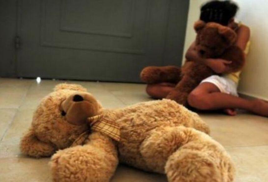 Criança foi resgatada pelo Conselho Tutelar