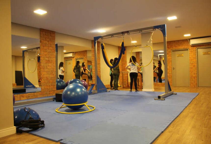 Investimentos constantes, como o estúdio de pilates, garantem formação de qualidade