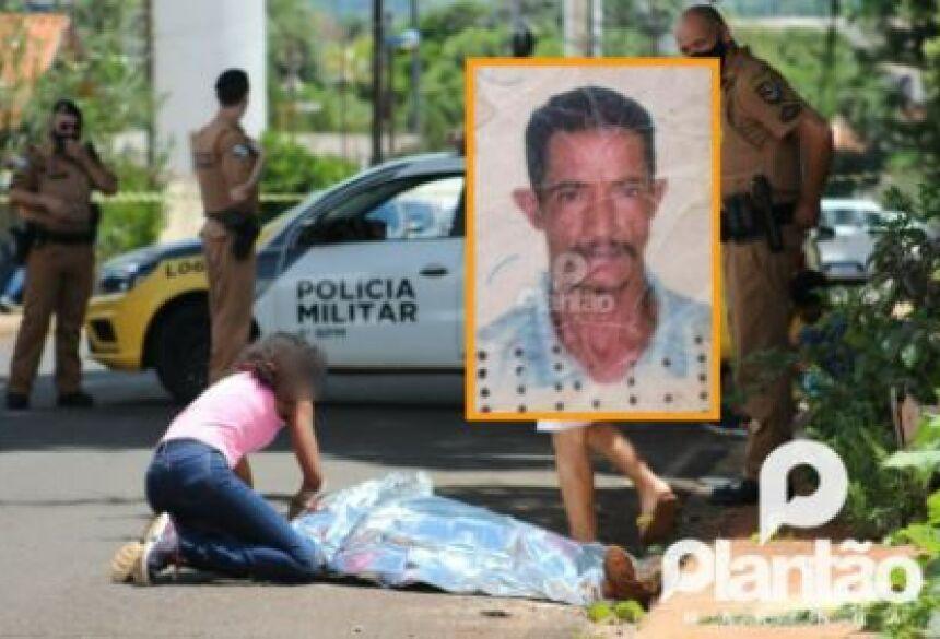 O autor do crime, que mora no mesmo quintal que a vítima residia, foi preso em flagrante pela Polícia Militar.
