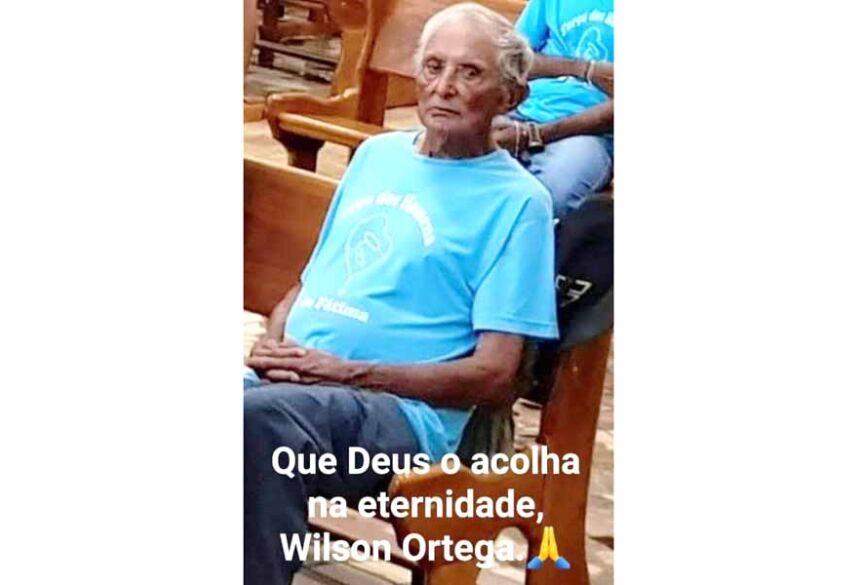 Wilson quando participava do Terço dos Homens
